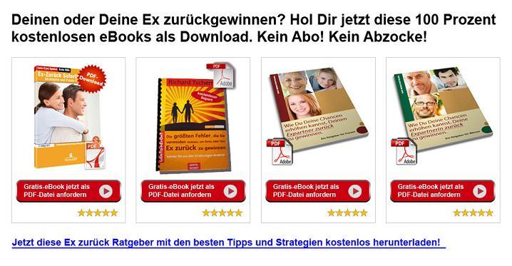 Kostenlose Ex zurück eBook's Download's